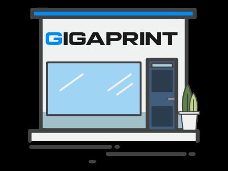 3D světelná reklama Gigaprint