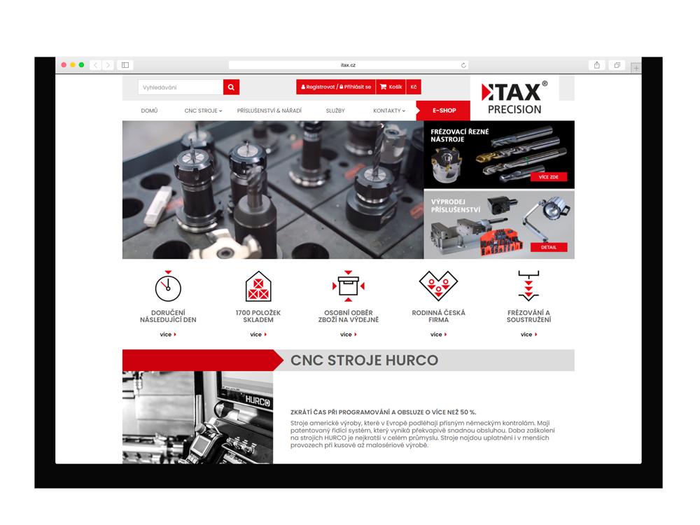 Internetový obchod ITAX PRECISION