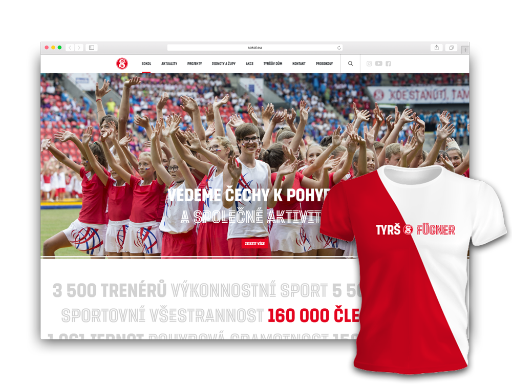 Webová stránka České obce sokolské